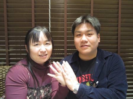 12112401木目金の婚約・結婚指輪_U001.JPG