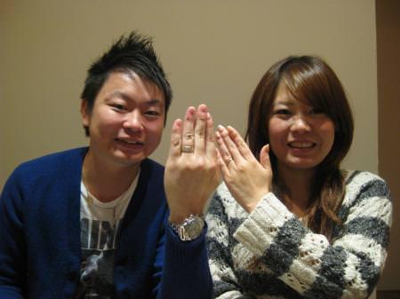 12112403木目金の結婚指輪Y001.JPG