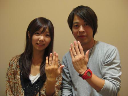 12112405木目金の結婚指輪Y001.JPG