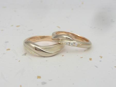 12112405木目金の結婚指輪Y002.JPG