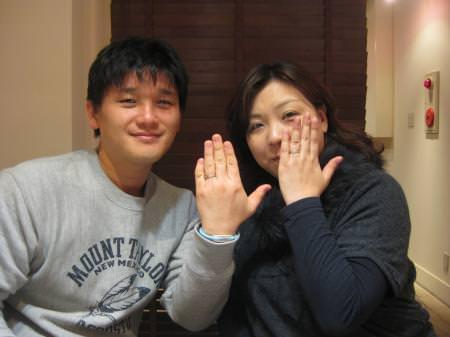12112504木目金の結婚指輪Y001.JPG