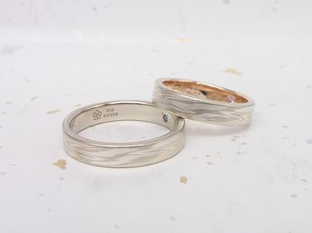 12112504木目金の結婚指輪Y002.JPG