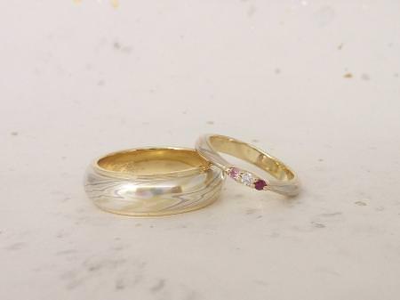 12112902木目金の結婚指輪 B 002.JPG