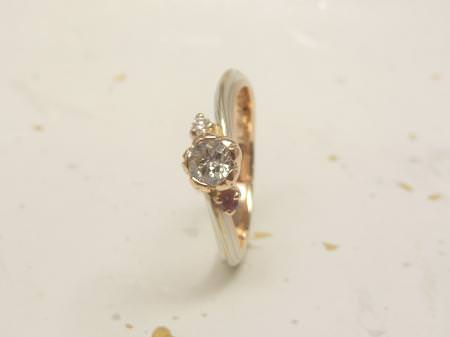 12123001木目金の婚約指輪M_002.JPG