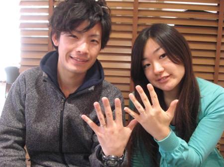 13022302木目金の結婚指輪_M001.JPG