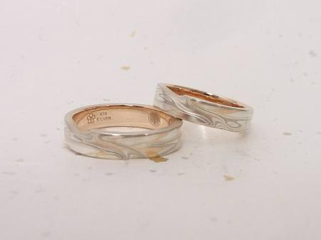13022401木目金の結婚指輪_K002②.JPG