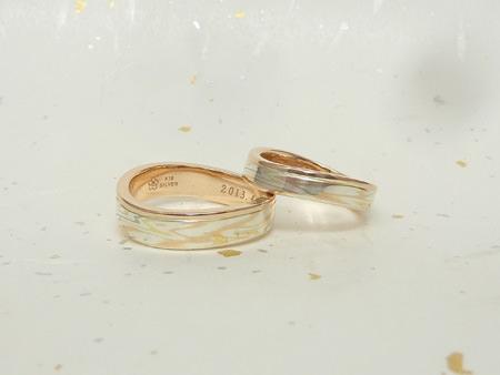13022802木目金の結婚指輪Y002.jpg