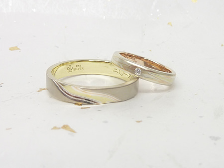 13033101グリ彫りと木目金の結婚指輪_N002.jpg