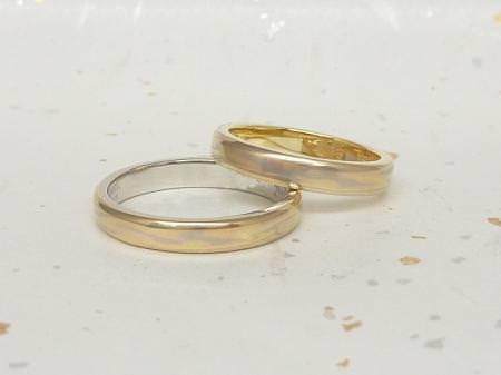 13042101木目金の結婚指輪Y_002.JPG