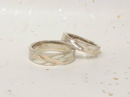 13042103木目金の結婚指輪Y002.JPG