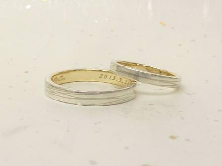 13042901木目金の結婚指輪_002②.JPG