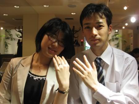 13043001木目金の結婚指輪_G001.JPG