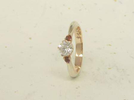 13043002木目金の婚約指輪_G002.JPG