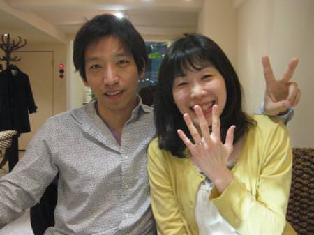 13043002木目金の婚約指輪_G001.JPG