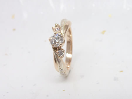 13052503木目金の婚約指輪Y002.JPG