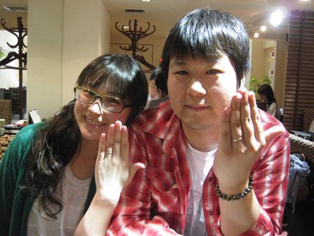 13052603木目金の結婚指輪_G001.JPG