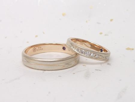 13052603木目金の結婚指輪_G002.JPG