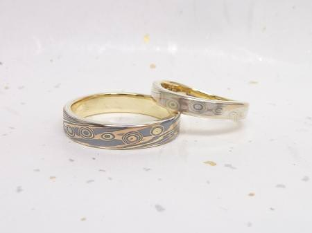 13052604木目金の結婚指輪-G001.JPGのサムネール画像