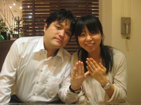 13052901木目金の婚約・結婚指輪Y001.JPG