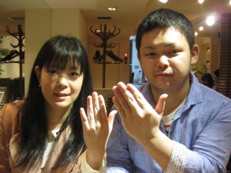 13053001木目金の結婚指輪_G001.JPG