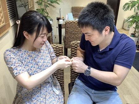 木目金の結婚指輪_002.JPG