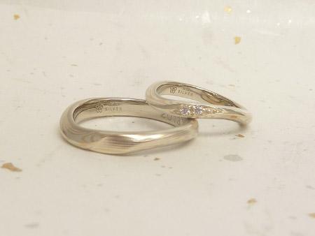 13063001木目金の婚約指輪・結婚指輪_O002②.jpg
