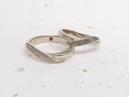 13063002木目金の結婚指輪_O001.JPG