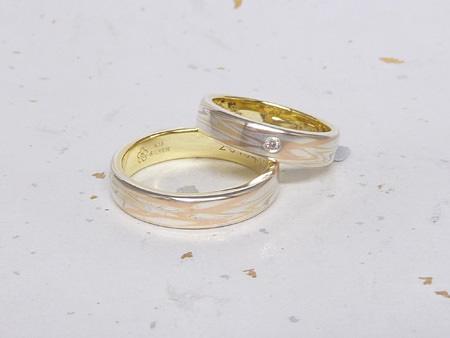 13072089木目金の結婚指輪M002.JPG