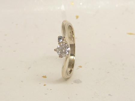 13072103木目金の婚約指輪と結婚指輪N_001.JPG