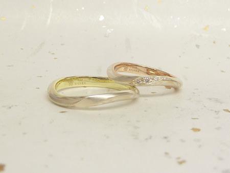 13072401木目金の結婚指輪M002.JPG
