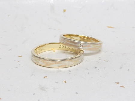 13072601木目金の結婚指輪M002.JPG