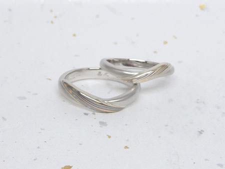 13072703木目金の婚約指輪・結婚指輪K_002②.JPG