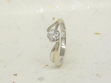 13072703木目金の婚約指輪・結婚指輪K_002.JPG
