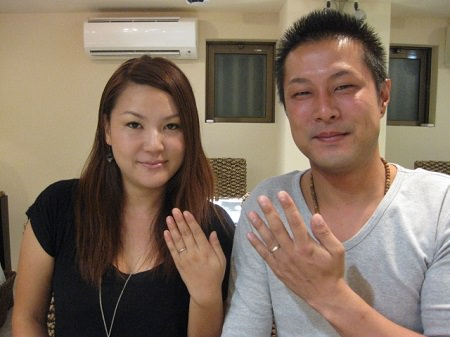 13083104木目金の結婚指輪_G001.JPG