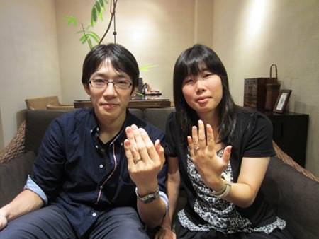 13092202木目金の結婚指輪_O001.JPG
