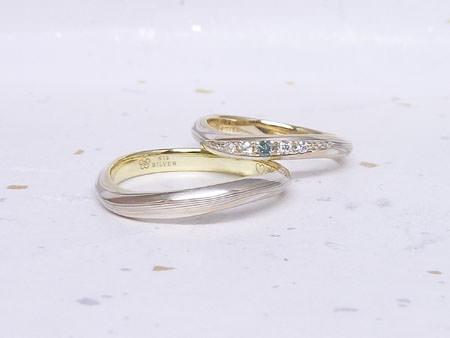 13092701木目金の結婚指輪M002.JPG