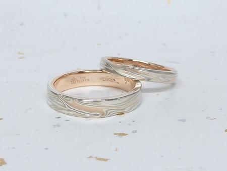 13102602木目金とグリ彫りの結婚指輪_M002.JPG