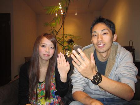 13102701木目金の結婚指輪_O001.JPG