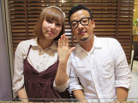 13103101木目金の婚約指輪_M001.JPG