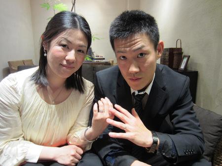 13113001木目金の婚約・結婚指輪_O001.JPG