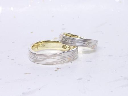 13122801木目金の結婚指輪_K002②.JPG
