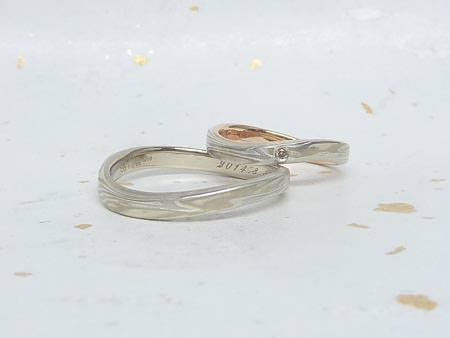 14012501木目金の結婚指輪_H002.JPG