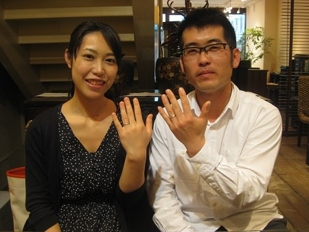 14033056木目金の結婚指輪Y001.JPG