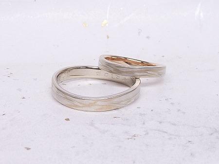 14051810木目金の結婚指輪G_001.JPG