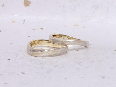 14052401木目金の結婚指輪K002.JPG
