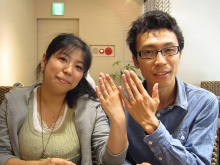 14052403木目金の結婚指輪_B001.JPG
