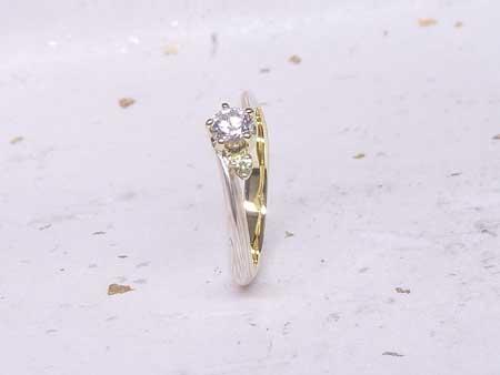 14052501木目金の婚約指輪・結婚指輪_O001.JPG