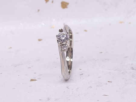 14053001木目金の婚約指輪と結婚指輪Z_002①.jpg
