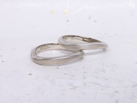 14053001木目金の婚約指輪と結婚指輪Z_002②.jpg