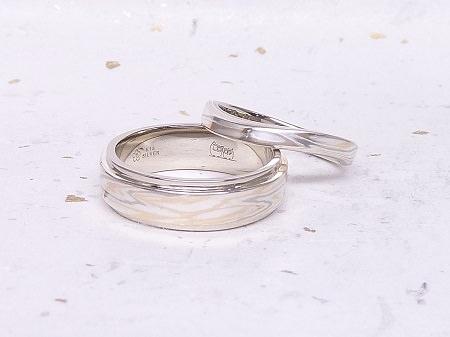 14051036木目金の結婚指輪Y002.JPG